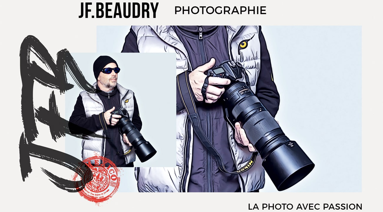 jean francois beaudry with camera